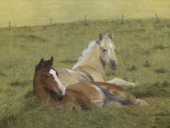 Pasture Pals - 18 x 24
