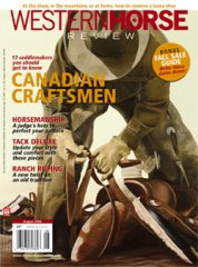 Western Horse Review - Cover - August 2006